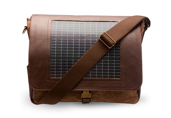 The Noon solar charger messenger bag gift