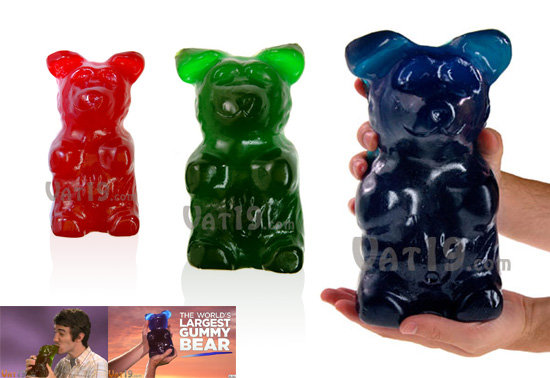 The Worlds Largest Gummy Bear, sweet gift!