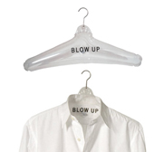 Bosign's blow up inflatable clothes hanger gift