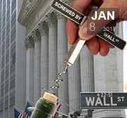 The screwed by wall street corkscrew gift