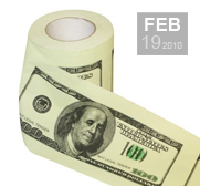 The $100 Sir Benjamin Franklin toilet paper gift