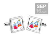 Customisable cufflinks gifts from Sonia Spencer