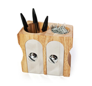 The deluxe pencil sharpener desk tidy gift