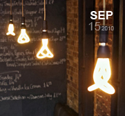 The funky twisted Plumen light bulb gift
