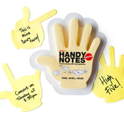 Your sticky handy notes gift