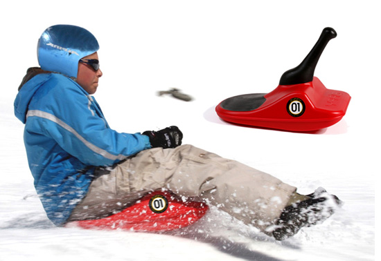 The Zipfy luge sled gift