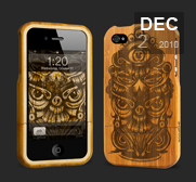 Grove's cool Bamboo iPhone case gifts