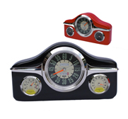 The retro car dashboard clock gift