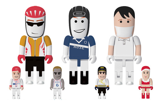 The customisable USB people flash drive gift