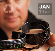 Craig Arnolds recycled camera lense bracelet gifts