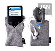 Chav up your iPod and mp3 with a hoody gift