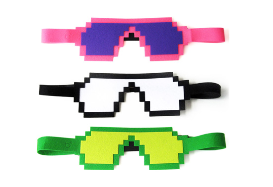 The pixel eye glass sleeping mask gift