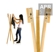 Leitmotiv's clothes peg coat stand gift