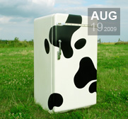A gift to turn your fridge into a cow