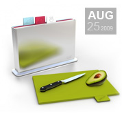 The index chopping board gift by Joseph Joseph