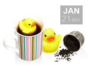 The tea duckie gift