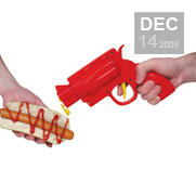 Get your squirt on with the condiment gun gift