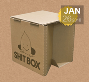 The ShitBox gift is your emergency poop box