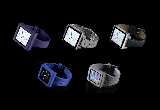 The iPod Nano watch band gifts by Hex