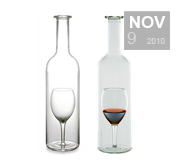 Colucci's Carafe Un Verre Wine bottle gift