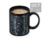 The Pac Man heat changing mug gift