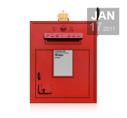 Your internal Royal post letterbox gift