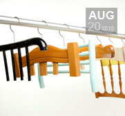 The recycled Abitudini clothes hanger gift