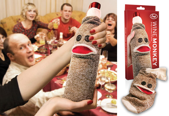 Bring a Wine Monkey™ gift to dinner!