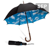 Tibor's Sky Umbrella gift will brighten your day