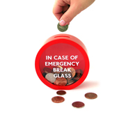 The Emergency Money Box gift