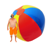 Get your giant inflatable beach ball gift