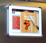 Fridgepad the Apple iPad fridge magnet mount gift