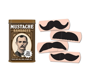The Mustache First Aid bandage gift
