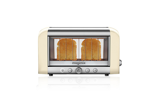 the magimix vision see through toaster gift ticatoca. Black Bedroom Furniture Sets. Home Design Ideas