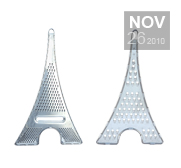 The Eiffel Tower cheese grater gift