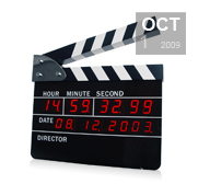 Set the scene with a ClapperBoard DigiClock gift