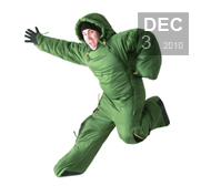 The body flexible Musuc sleeping bag gift