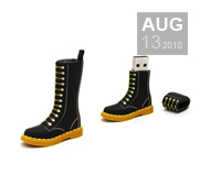 The official Dr.Martens boot USB drive gift