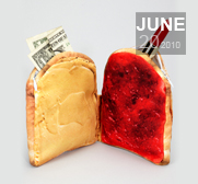 The Peanut Butter and Jelly wallet gift