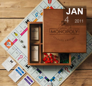 The vintage edition Monopoly gift