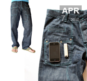 The iPhone and iPod compatible WTF jeans gift