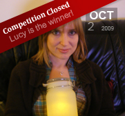 Lucy Rigley wins the Sun Jar gift from Suck UK