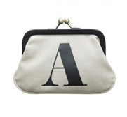 The alphabet coin purse gift