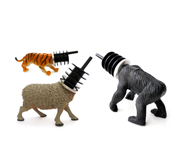 Animal wine stopper gifts by charlotte van der horst