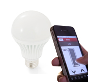 The app controlled LED light bulb by Insteon