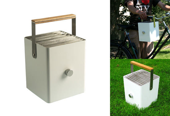 The City Boy Picnic grill gift by Klaus Aalto