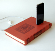 The iPhone and Ipod charging dock book gift