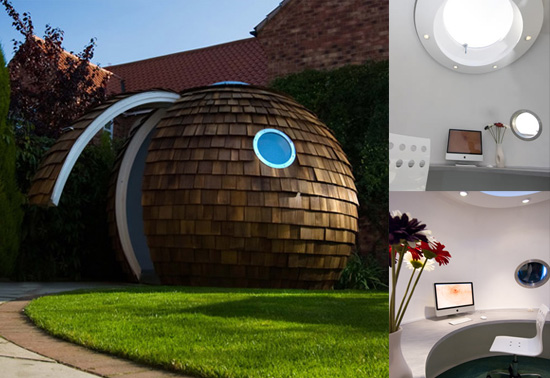 Archipods garden office would be a cool gift