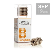Get your magnetic Bucky Balls gift