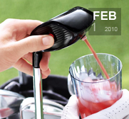 The electronic drink caddie for golf gift